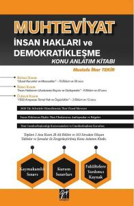 Muhteviyat İnsan Hakları ve Demokratikleşme Konu Anlatım Kitabı