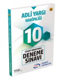 Murat Eğitim Adli Yargı Hakimliği Cevap Anahtarlı 10 Deneme Sınavı