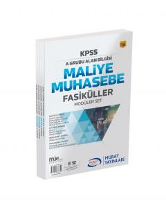 Murat Eğitim KPSS A Grubu Maliye Muhasebe Fasiküller Modüler Set 1388