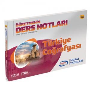 Murat Eğitim KPSS Türkiye Coğrafyası Öğretmenin Ders Notları