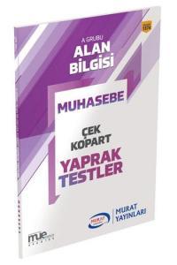 Murat KPSS A Grubu Muhasebe Çek Kopart Yaprak Testler 1374