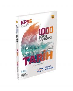 Murat KPSS Tarih 1000 Soru Bankası Kod 1093