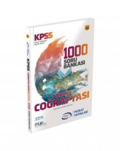 Murat KPSS Türkiye Coğrafyası 1000 Soru Bankası Kod 1094
