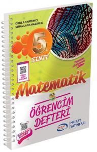 Murat Yayınları 5. Sınıf Matematik Öğrencim Defteri