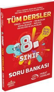 Murat Yayınları 8. Sınıf Tüm Dersler Soru Bankası