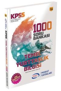 Murat Yayınları KPSS Temel Yurttaşlık Bilgisi 1000 Soru Bankası