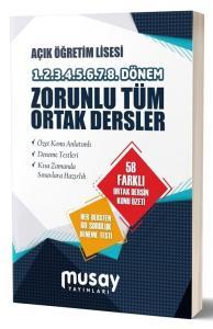 Musay Yayınları Açık Lise Zorunlu Tüm Ortak Dersler Konu Anlatımlı Soru Bankası