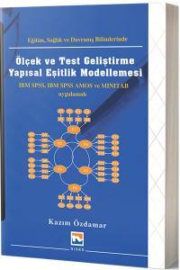 Nisan Ölçek ve Test Geliştirme Yapısal Eşitlik Modellemesi - Kazım Özdamar