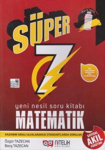 Nitelik Yayınları 7. Sınıf Matematik Süper Yeni Nesil Soru Kitabı