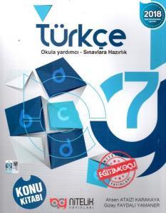 Nitelik 7. Sınıf Türkçe Konu Kitabı