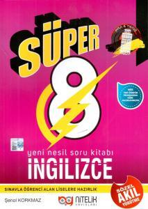 Nitelik 8. Sınıf Süper İngilizce Soru Kitabı
