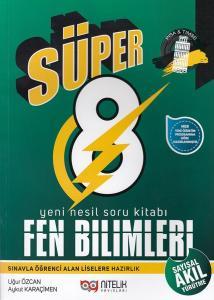 Nitelik 8. Sınıf Süper Fen Bilimleri Soru Kitabı