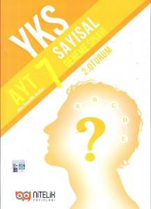 Nitelik AYT Sayısal 7 Deneme Sınavı