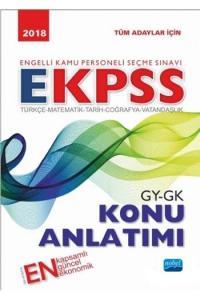 Nobel EKPSS Tüm Adaylar İçin Genel Yetenek Genel Kültür Konu Anlatımı 2018