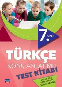 Nobel Sınav Yayınları 7. Sınıf Türkçe Konu Anlatımlı Test Kitabı