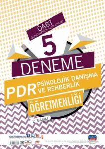 Nobel Yayınları 2020 ÖABT PDR Psikolojik Danışma ve Rehberlik Öğretmenliği 5 Deneme