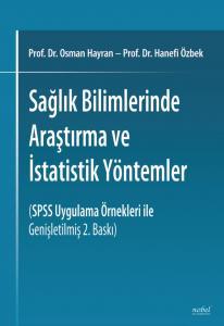 Nobel Tıp Sağlık Bilimlerinde Araştırma ve İstatistik Yöntemler - Osman Hayran, Hanefi Özbek