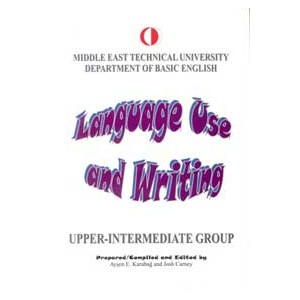 ODTÜ Language Use and Writing Upper-Intermediate Group