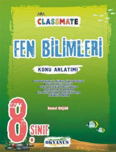 Okyanus Yayınları 8. Sınıf Fen Bilimleri Classmate Konu Anlatımı
