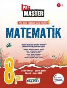 Okyanus Yayınları 8. Sınıf Matematik Premaster Soru Bankası