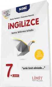 Limit Yayınları 7. Sınıf İngilizce Konu Bitirme Kitabı