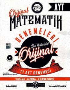 Orijinal Yayınları AYT Orijinal Matematik 11 li Denemeleri
