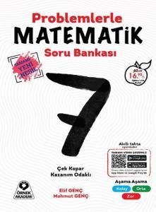 Örnek Akademi 7. Sınıf Problemlerle Matematik Yeni Nesil Soru Bankası