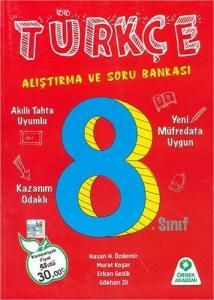 Örnek Akademi Yayınları 8. Sınıf Türkçe Alıştırma ve Soru Bankası