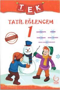 Palme Yayınları 1. Sınıf Tek Tatil Eğlencem Seti