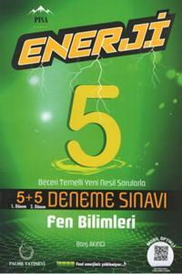 Palme Yayınları 5. Sınıf Fen Bilimleri Enerji 5+5 Deneme Sınavı