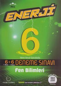 Palme Yayınları 6. Sınıf Fen Bilimleri Enerji 6+6 Deneme Sınavı