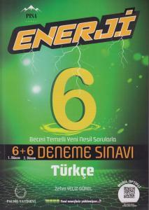 Palme Yayınları 6. Sınıf Türkçe Enerji 7+7 Deneme Sınavı