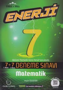 Palme Yayınları 7. Sınıf Matematik Enerji 7+7 Deneme Sınavı