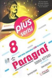 Palme Yayınları 8. Sınıf LGS Paragraf Plus Serisi Soru Kitabı