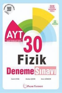 Palme Yayınları AYT Fizik 30 Deneme Sınavı