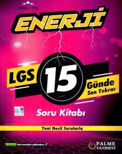 Palme Yayınları LGS 15 Günde Son Tekrar Enerji Soru Kitabı