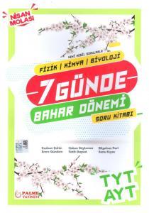 Palme Yayınları TYT AYT 7 Günde Bahar Dönemi Soru Kitabı