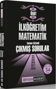 Pegem Yayınları 2019 ÖABT İlköğretim Matematik Tamamı Çözümlü Çıkmış Sorular
