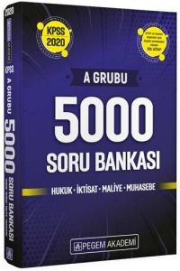 Pegem Yayınları 2020 KPSS A Grubu 5000 Soru Bankası