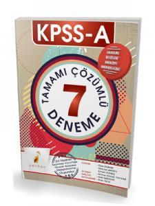 Pelikan KPSS A Grubu Tamamı Çözümlü 7 Deneme