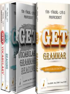 Pelikan Get Grammar Vocabulary Reading Soru Bankası Seti YDS YÖKDİL LYS 5 Proficiency