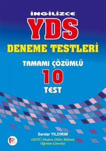 Pelikan İngilizce YDS Deneme Testleri Tamamı Çözümlü 10 Test - Serdar Yıldırım