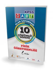 Pelikan KPSS ÖABT Fizik Öğretmenliği Alan Savunması 10 Çözümlü Deneme 2018