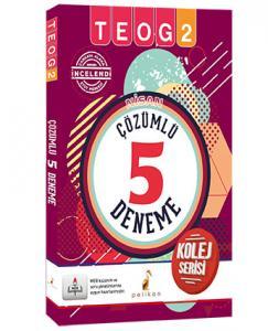Pelikan Nisan TEOG 2 Çözümlü 5 Deneme Kolej Serisi