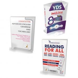 Pelikan YDS Hazırlık Seti İleri Seviye - 3 Kitap