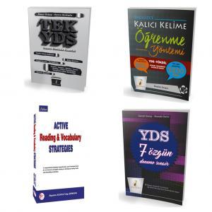 Pelikan YDS Hazırlık Seti Orta Seviye - 4 Kitap