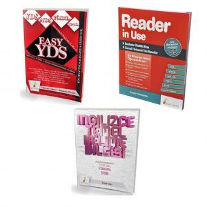 Pelikan YDS'ye Yeni Başlayanlar için Başlangıç Seviye Set - 3 Kitap