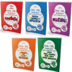 Pelikan YKS Dil Rehberi Seti Kısa Cevaplı Açık Uçlu Soru Bankası, 5 Deneme, Soru Bankası, Gramer, Kelime - 5 Kitap