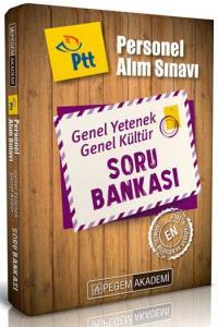 Pegem Akademi PTT Personel Alımı Sınavı Genel Yetenek Genel Kültür Soru Bankası