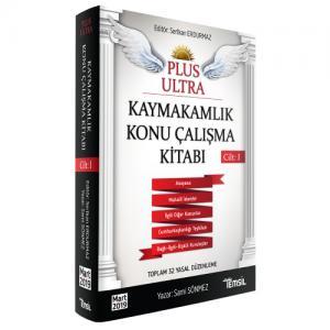 Temsil Plus Ultra Kaymakamlık Konu Çalışma Kitabı Cilt 1